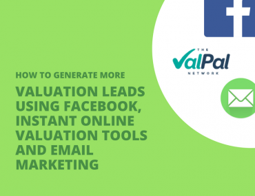 Generate valuation lead using email, instant online valuation tools and email